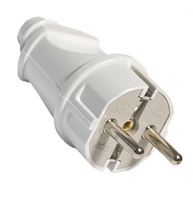 AKSFOR электрическая вилка с заземлением