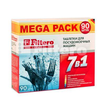 FILTERO для посудомоечной машины 7 в 1 (90 шт)