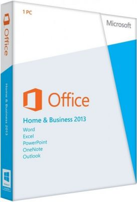 MS Office 2013 Home and Business 32-bit/x64 Russian OEM (T5D-01870)