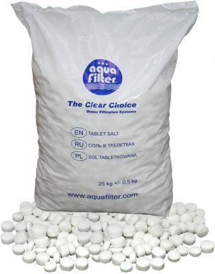 Aquafilter Соль таблетированая 25 кг