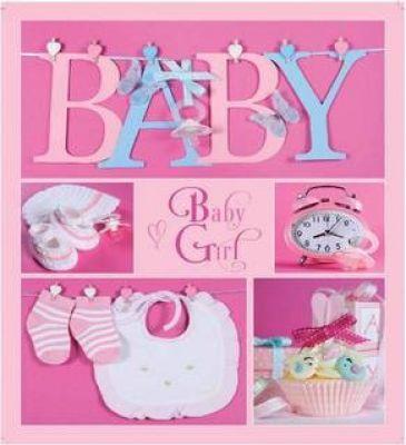 EVG 10x15x56 BKM4656 Baby collage Pink
