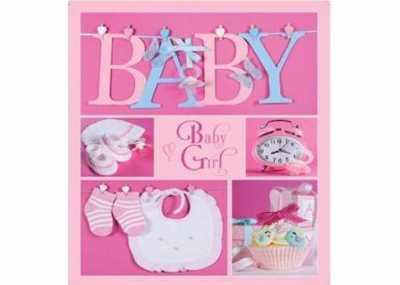 EVG 20sheet Baby collage Pink w/box