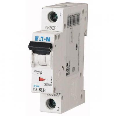 Автоматический выключатель Eaton(Moeller) (286539) PL6-C63/1