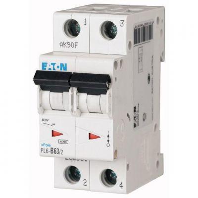 Автоматический выключатель Eaton(Moeller) (286565) PL6-C10/2
