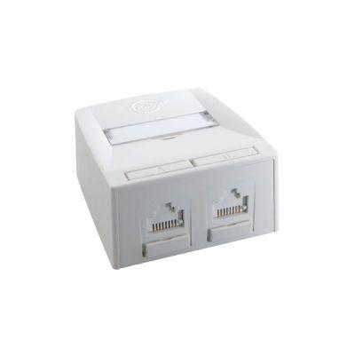 Molex Synergy DG+, 2 x RJ45, 568A/B UTP, PowerCat 5e (SSY-00010-02)