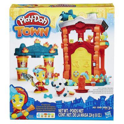 HASBRO Play-Doh Игровой набор B3415 Город: Пожарная станция