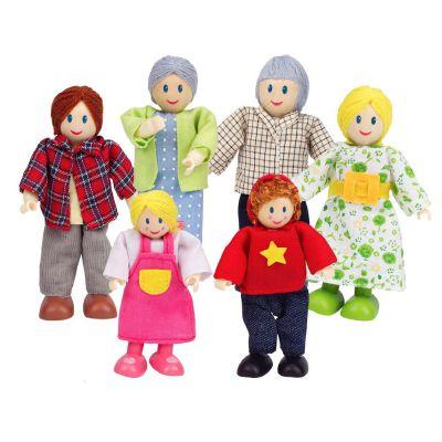 HAPE Фигурки Счастливая семья (E3500)