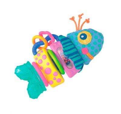 baby team Baby team игрушка-погремушка рыбка (с пищалкой) (35535)