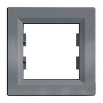Рамка 1 пост Schneider Electric Asfora Сталь (EPH5800162)