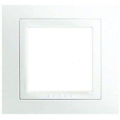 Рамка 1 пост Schneider Electric Unica Basic белый(бел) (MGU2.002.18)
