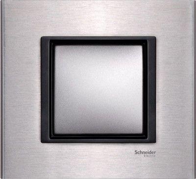 Рамка 1 пост Schneider Electric Unica Class Белый(стекло) (MGU68.002.7C2)
