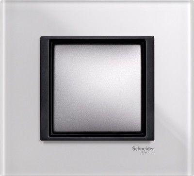 Рамка 1 пост Schneider Electric Unica Class матовое стекло(стекло) (MGU68.002.7C3)