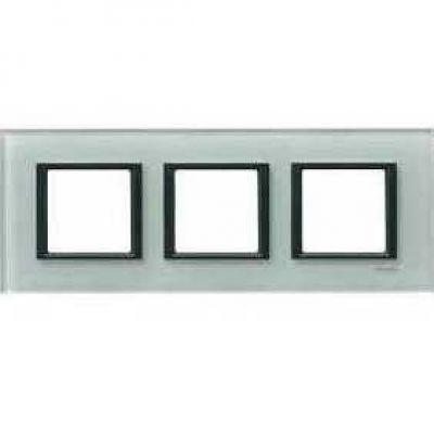 Рамка 3 поста Schneider Electric Unica Class матовое стекло(стекло) (MGU68.006.7C3)