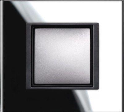 Рамка 1 пост Schneider Electric Unica Class Серебристый алюминий(металл) (MGU68.002.7A1)