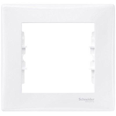 Рамка 1 пост Schneider Electric Sedna Белый (SDN5800121)