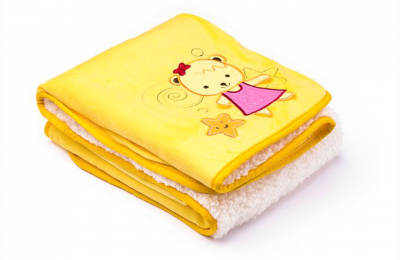 Sensillo Плед Милые Мишки Yellow (22866)