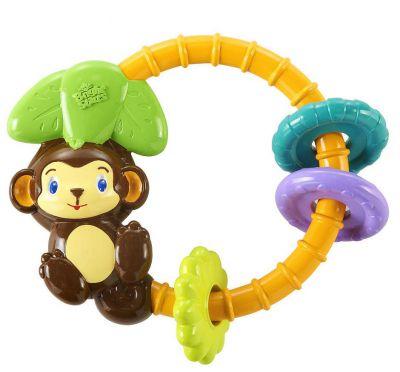 Kids II Музыкальная игрушка-погремушка Обезьянка (9206)