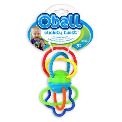 Kids II Игрушка-прорезыватель Цветные спиральки (81508)