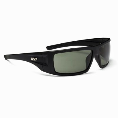 Optic nerve kato matte black (polarized smoke)
