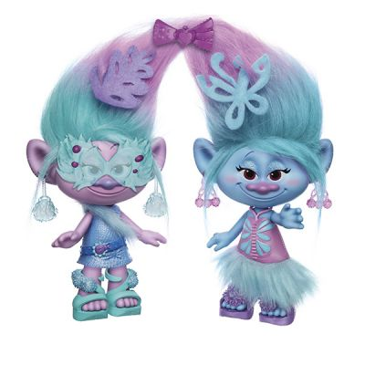 Hasbro b6563 тролли модные близнецы