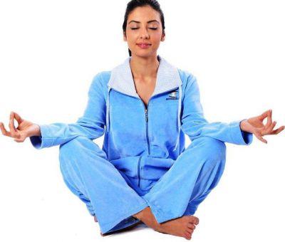 Пижама Arya Женская На Молнии 13315 S, Голубой