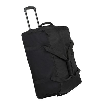 Members holdall on wheels medium 83 black