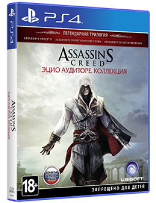 Assassins creed: the ezio collection ps4 [rus]