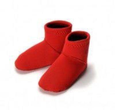 Konfidence Носки для бассейна и пляжа Paddlers, Red, XL/ 24-36 мес (NS06XLC)