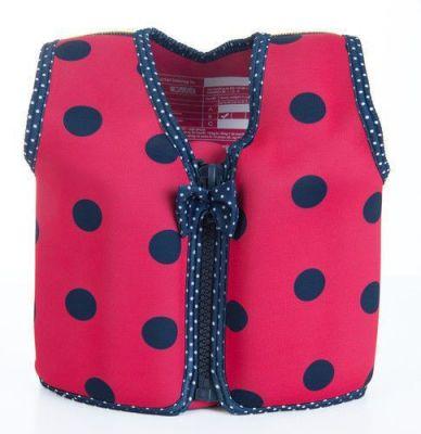 Konfidence Плавательный жилет Original Jacket, Ladybird Polka, M/ 4-5 г (KJ05-C-05)