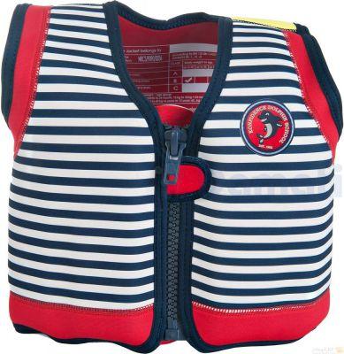 Konfidence Плавательный жилет Original Jacket,Blue Stripe, M/ 4-5 г (KJ15-C-05)
