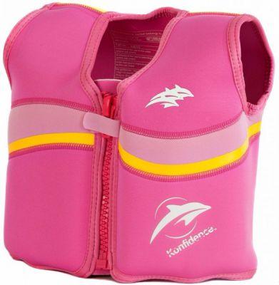 Konfidence Плавательный жилетOriginal Jacket,Fuchsia/ Pink, M/ 4-5 г (KJD10-05)