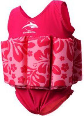 Konfidence Купальник-поплавок Floatsuits, Pink Stripe. 4-5л.(FS02-4/5L)
