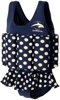 Konfidence купальник-поплавок floatsuits, polka dot, s/ 1-2 г (fs04-b-02)