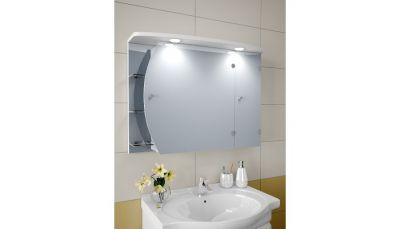 Divan-plus Шкаф зеркальный с подсветкой 88-N