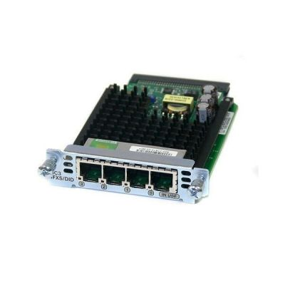 Cisco Four-Port Voice Interface Card - FXS and DID (VIC3-4FXS/DID=)