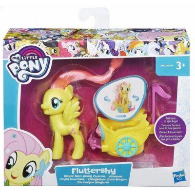 Hasbro пони в карете (b9159)