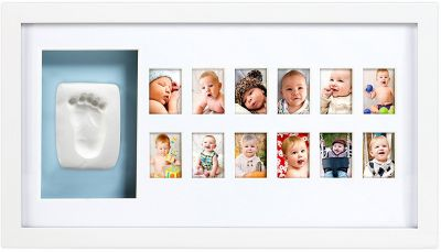 Pearhead Рамочка для фото и глиняного слепка (белая) (P62117)