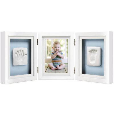 Pearhead Рамочка для фото и глиняного слепка (белая) (P63006)