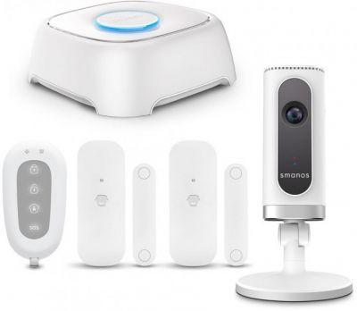 Smanos WiFi Alarm System + HD WiFi Camera W020i (W120i)