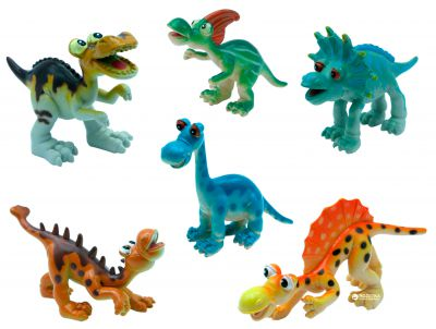 BABY TEAM Набор игрушек-фигурок Динозавры, 6 шт