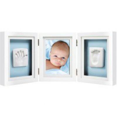 Pearhead Рамочка для фото и глиняного слепка (белая) (P63000)