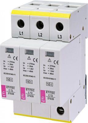 ETI ETITEC C T2 275/20 (3+0) 3p (2440399)
