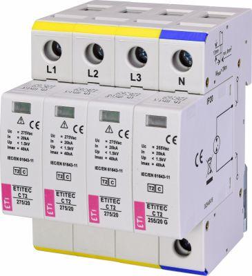 ETI ETITEC C T2 275/20 (3+1) 4p (2440403)