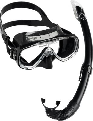 CRESSI-SUB Onda Mare (маска + трубка) черный (DM1010155)