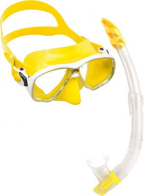 CRESSI-SUB Marea Vip (мас.Marea+ труб.Gamma) желтый (DM1000056)