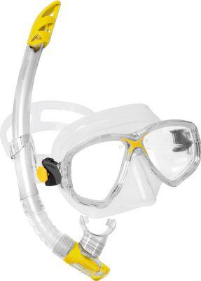 CRESSI-SUB Marea Vip (мас.Marea+ труб.Gamma) прозраачный/желтый (DM1000051)