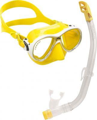 CRESSI-SUB Marea Vip Junior (мас.Marea Jr+труб.Top) желтый (DM1000066)