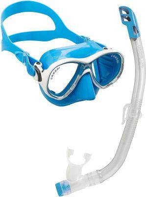 CRESSI-SUB Marea Vip Junior (мас.MareaJr+труб.Top) синий (DM1000068)