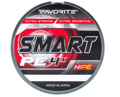 Favorite Smart PE 4x #0.6 Lime (0.132mm 150m 4.00kg)