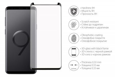 2E Galaxy S9 Plus G965 3D Full (2E-TGSG-GS9P3D)